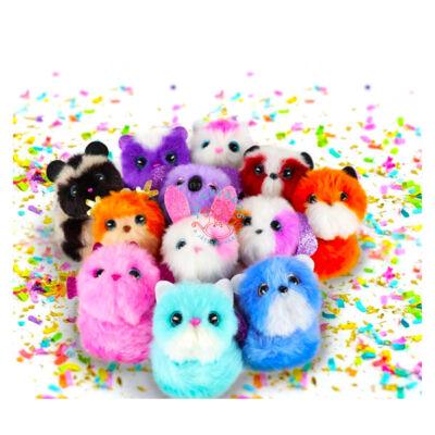 Pomsies mini plüssállatok többféle változatban