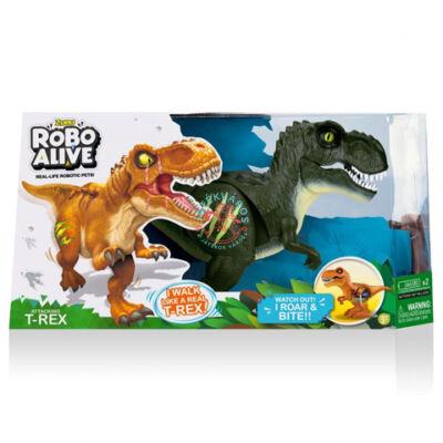 Robo Alive Támadó T-Rex Dinoszaurusz robotfigura Interaktiv