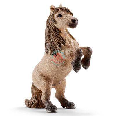 SCHLEICH Mini Shetty csődör ló