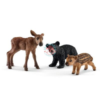 SCHLEICH Az erdei állatok kicsinyei