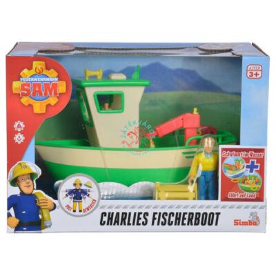 Sam a tűzoltó-Charlie horgászhajója