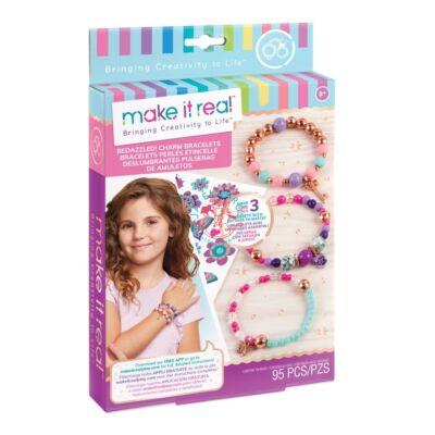 Make It Real csillogó karkötők, kreatív játékszett