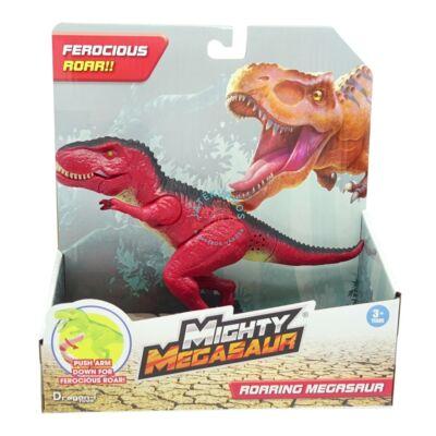 Dragon-i Hatalmas Megasaurus T-REX dino fénnyel, hanggal 20 cm