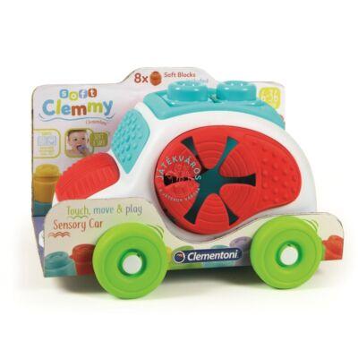 Clementoni Clemmy Baby autós építőkészlet 8 db-os