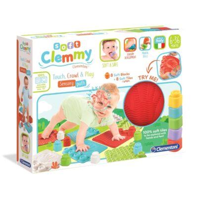Clementoni Clemmy Puha játszószőnyeg és építőkocka szett 17352