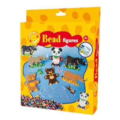 Playbox vasalható gyöngykép-Medve, orrszarvú 2000 db