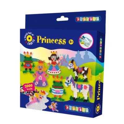 Playbox vasalható gyöngykép-Hercegnő 2000 db