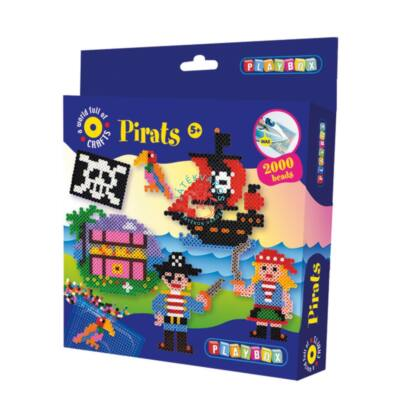 Playbox vasalható gyöngykép-Kalózok 2000 db