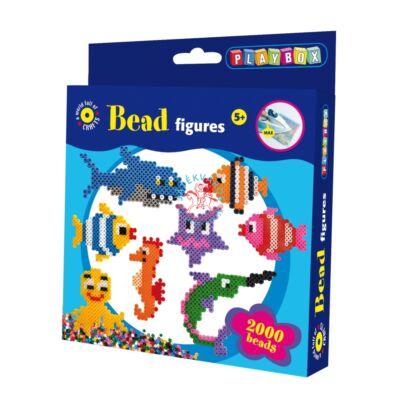 Playbox Gyöngykép figurák, tengeri állatok