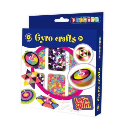 Playbox Kreatív szett, pörgethető formák
