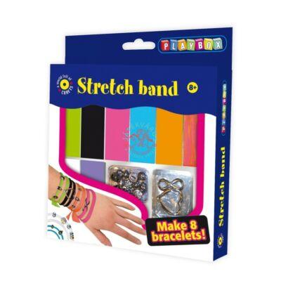 Playbox Kreatív szett, stretch karkötő készítő