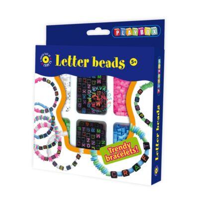 Playbox Kreatív szett, neon betűk
