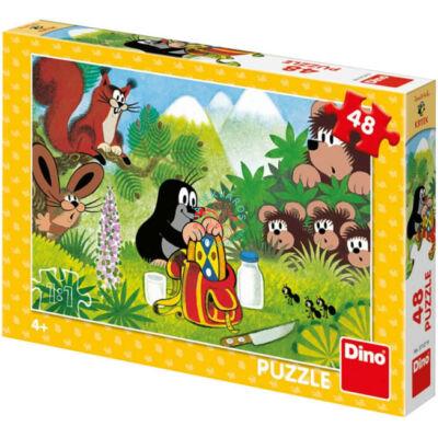 Kisvakond piknikje puzzle 48 db-os - Dino