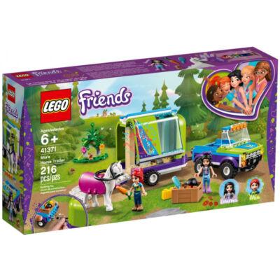 LEGO Friends, Mia lószállító utánfutója 41371