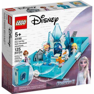 Lego Disney Princess Elza és a Nokk mesekönyve 43189