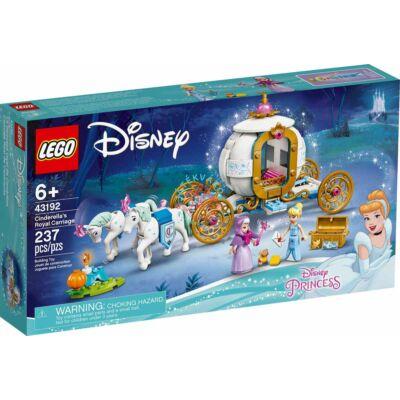 Lego Disney Princess Hamupipőke királyi hintója 43192
