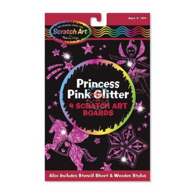 Melissa & Doug Képkarc glitter, hercegnő