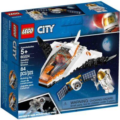 LEGO City Space Port, Műholdjavító küldetés 60224