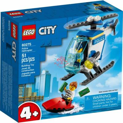 Lego City Police Rendőrségi helikopter 60275