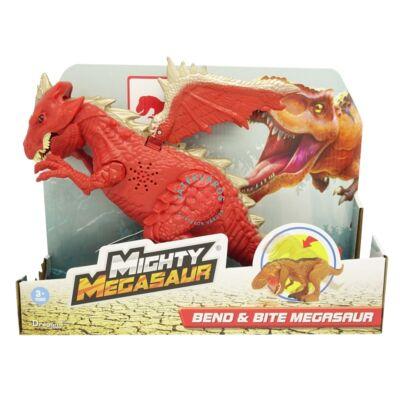 Dragon-i Hatalmas Megasaurus,mozgatható,harapó sárkány 30 cm