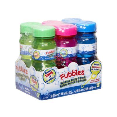 Little Kids: Fubbles Party buborékfújó készlet 6X118 ML