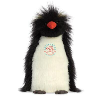 Aurora Luxe Boutique Theo az aranytollú pingvin plüss
