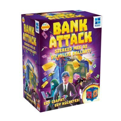 Bank Attack, bankrablás társasjáték