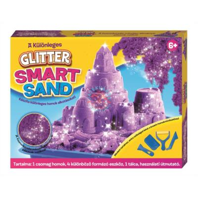 Creative Kids Smart Sand, glitteres homok gyurma