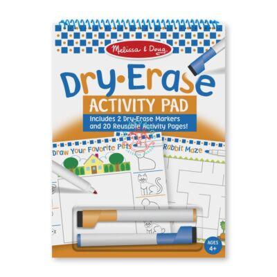 Melissa & Doug Kreatív játék, Letörölhető lapok, foglalkoztató füzet