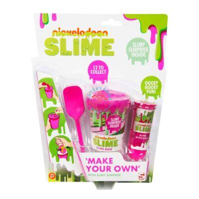 Sambro,csináld magad slime szett meglepetéssel, pink