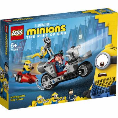 Lego Minions: Megállíthatatlan motoros üldözés 75549