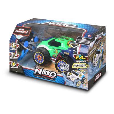 Nikko RC Nano VaporizR 3 zöld szinű távirányitos autó