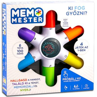 Memo Mester Memória társasjáték