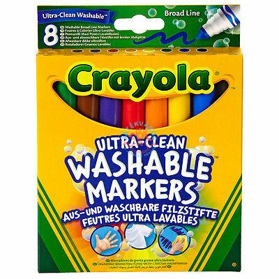 Crayola: 8 darabos vastag lemosható filctoll