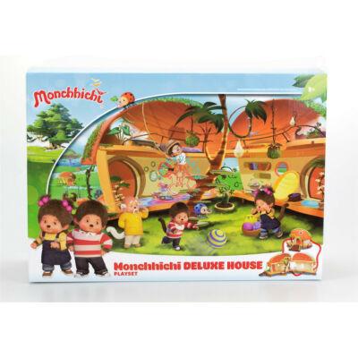 Monchhichi ház delux villa szett moncsicsi