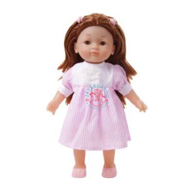 Magyarul éneklő Charlotte baba rózsaszín ruhában 36 cm