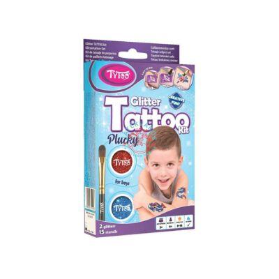 Tattoo Tytoo fiús csillámtetoválás