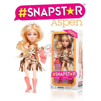 Snapstar  Aspen divatbaba kiegészitőkkel 22 cm
