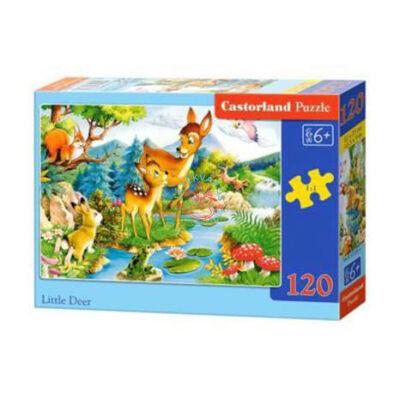 Őzikék a folyóparton maxi puzzle 20 db-os - Castorland