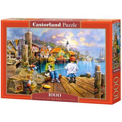 A kikötőben 1000 db-os puzzle  Castorland