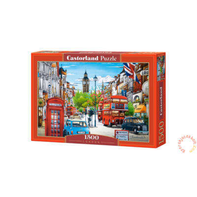 London 1500 db-os puzzle Castorland