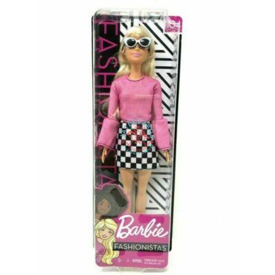 Barbie Fashionistas: baba kockás szoknyában
