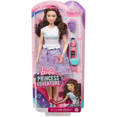 Barbie Princess Adventure baba :Renee hercegnő  lila szettben