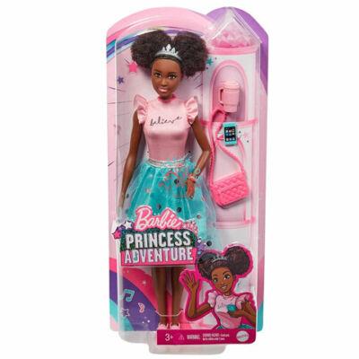 Barbie Princess Adventure baba :Nikki hercegnő  pink kék szettben