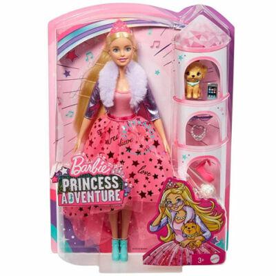 Barbie Princess Adventure: Hercegnő pink szettben