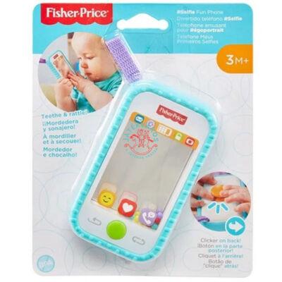 Szelfi telefon csörgő és rágóka - Fisher Price