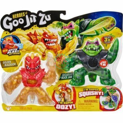 Goo Jit Zu: Blazagon vs Rock Jaw 2 darabos szett - 2. széria