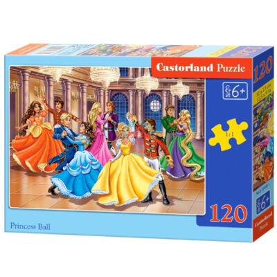 Hercegnők bálja 120 db-os puzzle Castorland