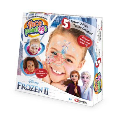 Face Paintoos Jégvarázs Arcfestő, tetoválás csomag - Disney Frozen 2