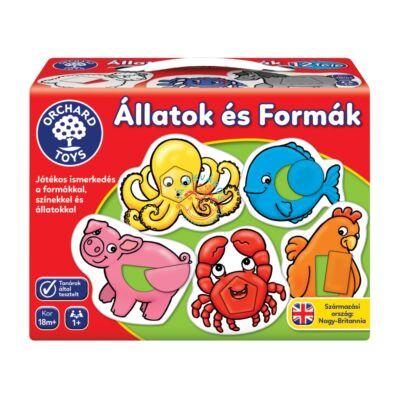 Orchard Toys Állatok és formák társasjáték